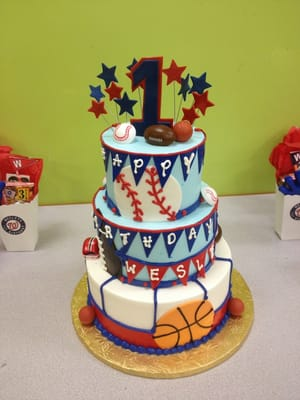 Birthday Gift Ideas 8 Year Old Boy On Sports Cake For A Lucky 1