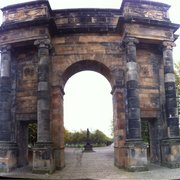 McLennan arch on Glasgow Green.