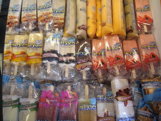 Real Fruit Mexican Paletas (Popsicles), over 20 flavors to choose from ...