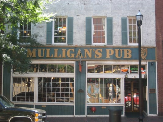 Mulligan s pub restaurant closed downtown for Dining nashville tn