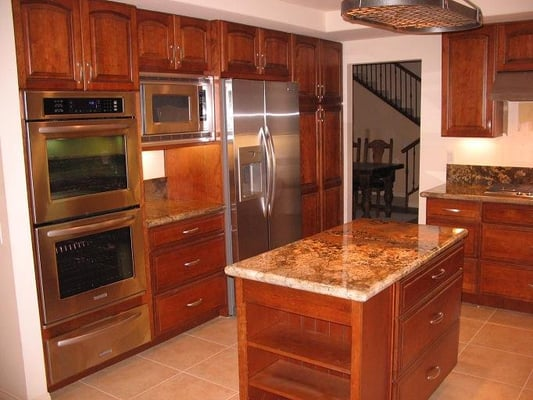 Photos for home solutions kitchen remodeling yelp for Aristocraft kitchen cabinets