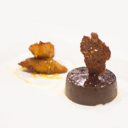 """PASTEL DE CHOCOLATE CON PLATANO """"MACHO"""""""