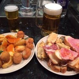 Tapas with beer!