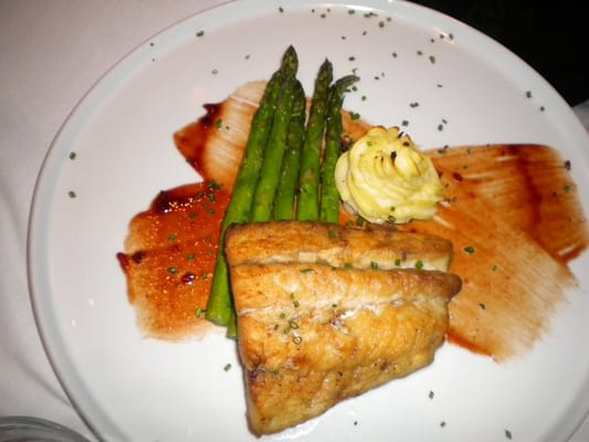 Pecan Wood Grilled Rainbow Trout Almondine | Yelp