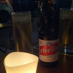 I love it!!! You can order Rivella in Hamburg :) VERY & Sooo Zürich chic, and with crushed ice & Bombay, nice summer drink!