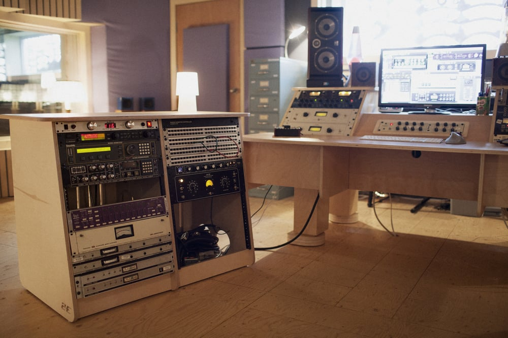 Recording Studio Furniture built for Damian Taylor at
