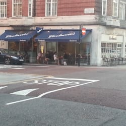 Carluccio's restaurant, Campden Hill Road, London