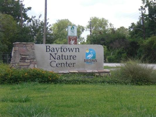 Baytown Nature Center Baytown Tx