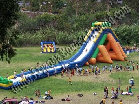 Inflatable water slide rental rent water slides phoenix scottsdale az yelp - The giant slide apartament ...