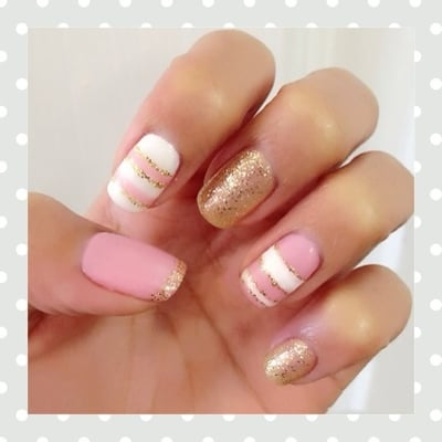 lovely Gelish nails done by Mai | Yelp
