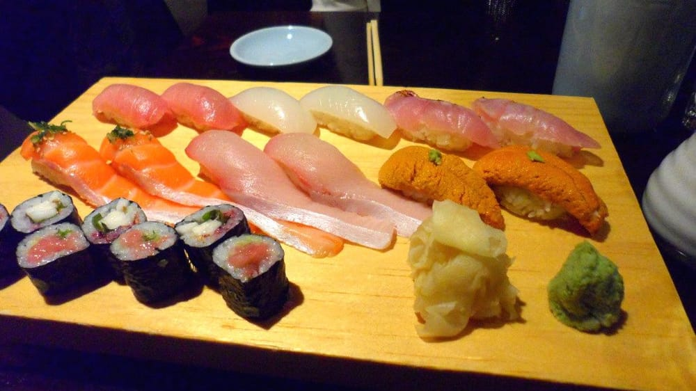 Yellowtail Belly Sushi omakase for two...