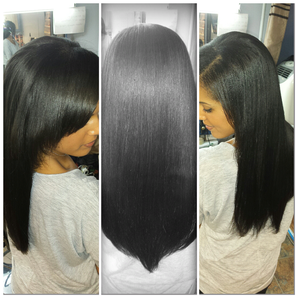 Side Part Sew In Weave | Yelp