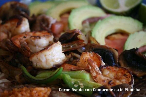 Carne Asada con Camarones a la Plancha (close-up) | Yelp