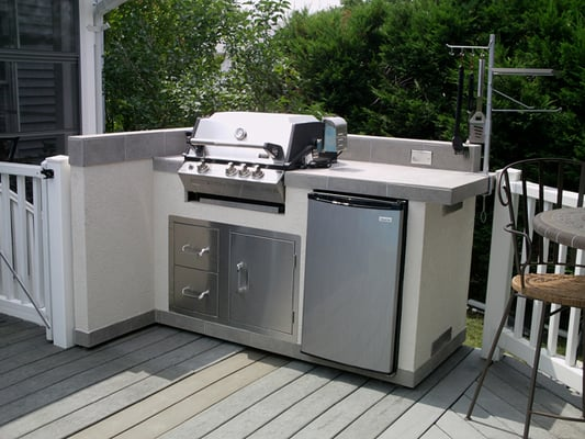 5 39 Wide Outdoor Kitchen Base Island Measure 66 And Includes Stainless Steel Door Drawers