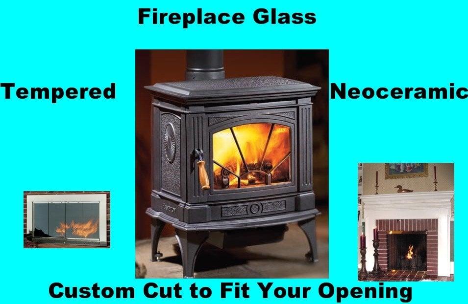 Hi Temperature Glass Wood Stove Glass Fireplace Glass Fire Screen Glass Neoceramic Neo
