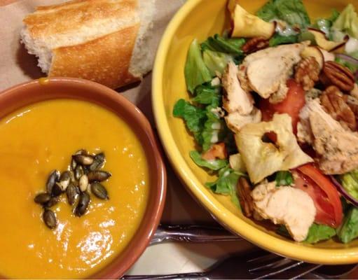 Pick 2 w autumn squash soup turkey fuji apple salad yelp for Afghan cuisine sugar land