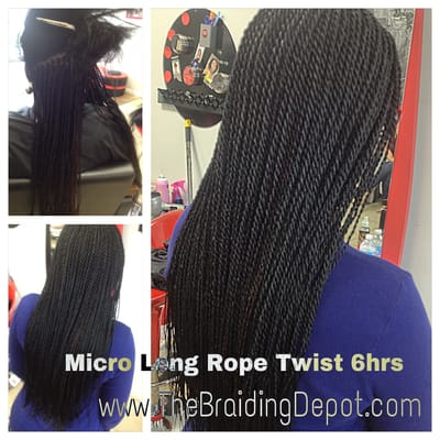 Micro rope twist done within 6 hours by bee tashi at for Benite home depot