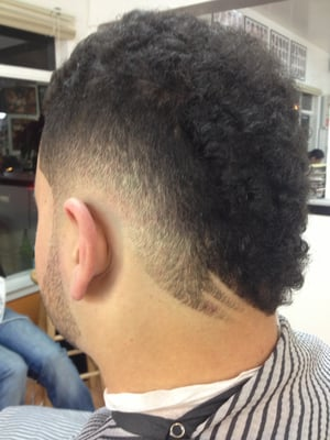 "NEW ""Usher Burst Fade Mohawk"" 
