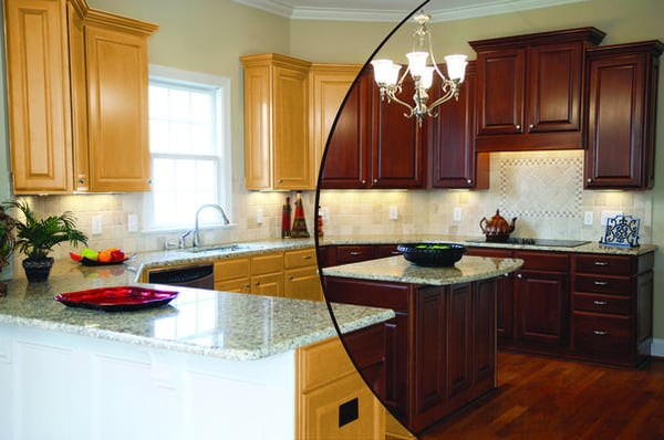 Kitchen Cabinets Color Change | Yelp