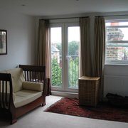 New Double Bedroom within Dormer Conversion with French Doors