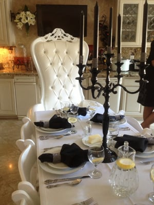 Throne Chair Rental Nj
