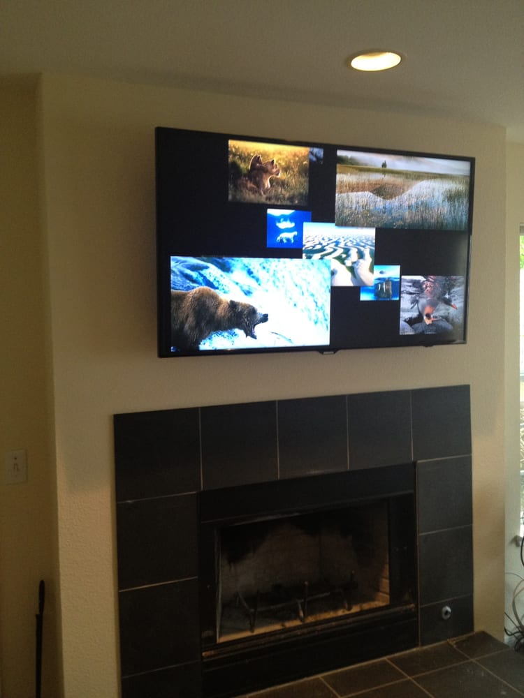 Wall Mounting A Tv Over Fireplace 2015 Home Design Ideas