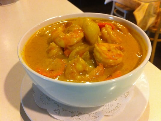 Yellow curry with shrimp yelp for Angel thai cuisine glendale