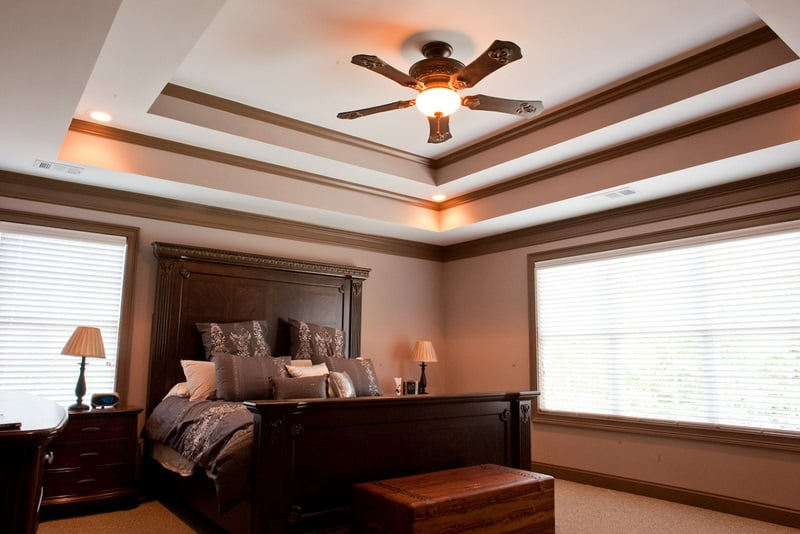 Master Bedroom With Tray Ceilings Yelp