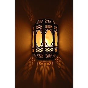 Moroccan wall sconces | Yelp