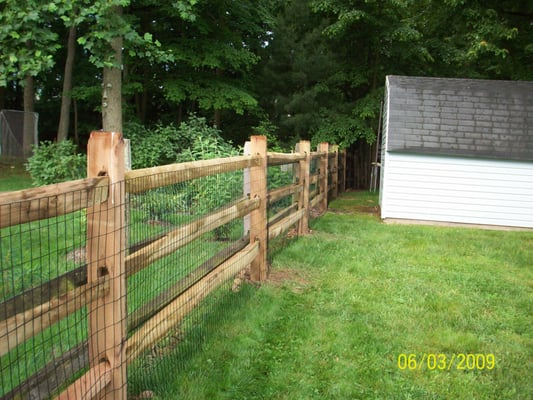 3 Rail Split Rail Fencing Yelp
