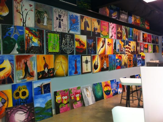 painting with a twist paint sip grapevine tx