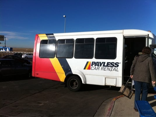 Payless car rental near denver airport