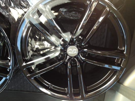 Freshly Powder Coated M45 Sport Rims Yelp