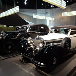 1937 770, left; 1937 540K Cabrio, right.