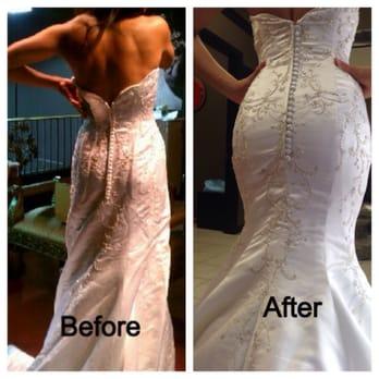 Wedding Dress Makeover By Lori