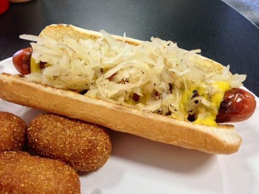 Hot Dog With Sauerkraut Near Me