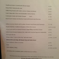 Menu As of 15 Aug 2013