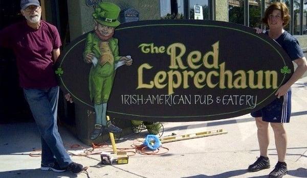 the red leprechaun long beach
