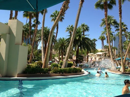 Grand Pool Complex Swimming Pools The Strip Las Vegas Nv Yelp