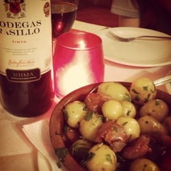 Rosemary potatoes & chorizo