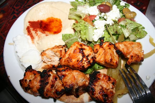Chicken Tawook ($13.99)