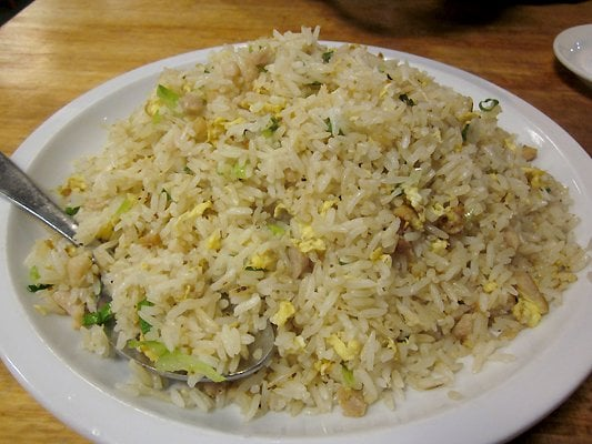 Salted fish and chicken fried rice yelp for Alaska fish and chicken menu