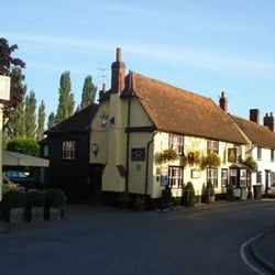 View of The Queen's Head in summer