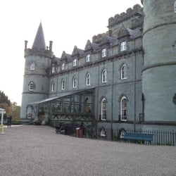 Inverary Castle, Inveraray, Argyll and Bute, UK