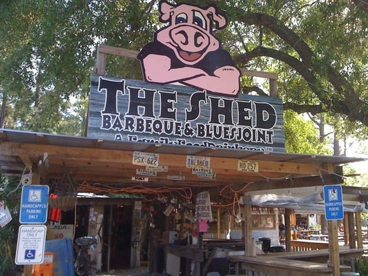 The Shed Barbeque & Blues Joint - Barbeque - Ocean Springs ...