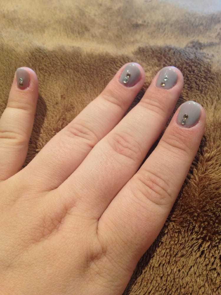 Perfectly done, even on my short nails! Gel manicure at Le Venus Spa