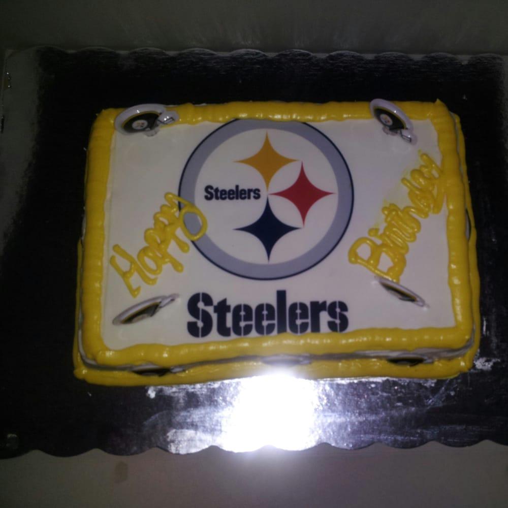Pittsburgh Steelers Birthday Cake! Yelp