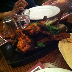 Tandoori chicken & masala lamb chops