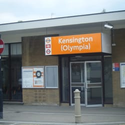 Overground waiting area