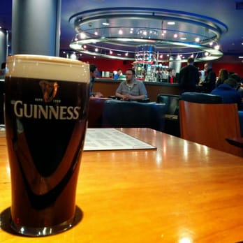 A good Guinness at the Cineworld Cinema's bar is the perfect way to start a movie night.